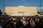 Syntagma Square Protest 01 by Kevrekidis