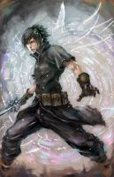 Noctis from FFXIII versus by longai