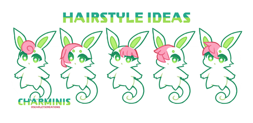 Charmini - Hair-styles/fluffs Information by scarletscreations