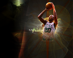 Ray Allen Wall by gingerbreadmann