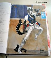 Blackbook page1 Italian Cat by Max-Zorin