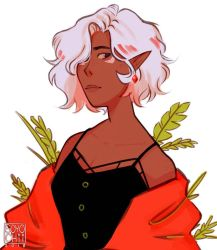 short haired Allura ft. bright colors by soyochii
