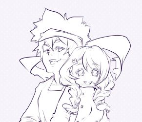 Souma x Megumi Ink - Food wars by Caim-The-Order