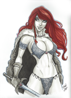 Red Sonja commission 13 by Xenomrph