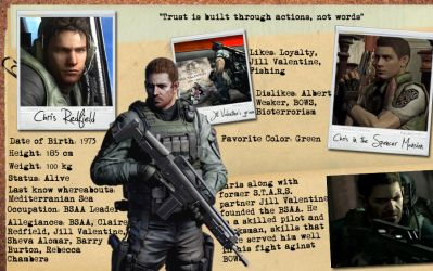 Chris Redfield's Profile by Isobel-Theroux