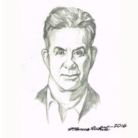 Alan Thicke Drawing by MarcusTheArtist