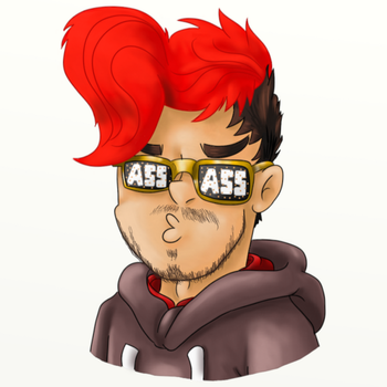 ASS ASS glasses by SilvaLucyStar