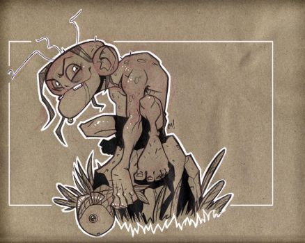 Lord of the Rings: Gollum by Zatransis