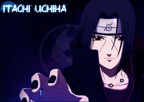 Itachi Wallpaper by exdarkstyle