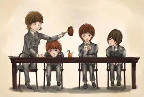 Beatles Lunch by Toriuchi