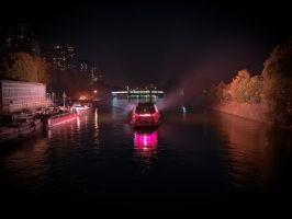 Pink Night on 'La Seine' by ToXX