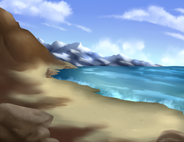 Rough Mountains by SlayersStronghold