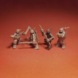 Weapon team 4-pack by storag