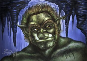 Wise ogre by driany