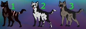 Ginga Adoptables - ONE LEFT by DarkStarWolf07