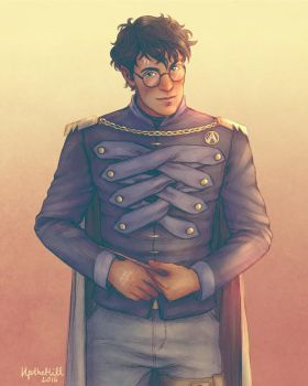 Auror Harry James Potter by upthehillart