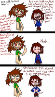 Frisk is such a Pacifist by Jolibe