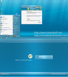 Live Remix XP 3.0 Blue by Niwradsoft