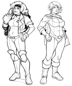 Rogue or Power Girl?  VOTE  (expired) -- Rogue won by ExMile