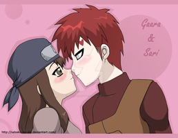 Naruto+Couples: GaaSari by The-PirateQueen