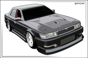 Nissan Laurel Vector by carguy88