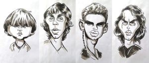 Anakin's Downfall - Caricatures by drawacrowdau