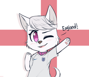 English Accent Dog by HigglyTownHero