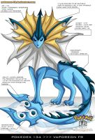 Pokedex 134 - Vaporeon FR