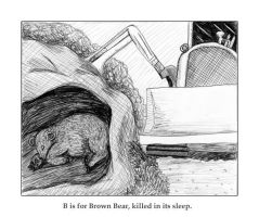 B is for Brown Bear by Melaninny