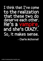 Edward and Bella are freaks. by amethystsmile870