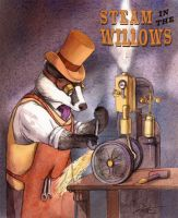 Mr. Badger and his cat's paw crowbar by wovenlines
