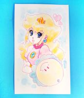 Princess Peach watercolor for sale by zambicandy