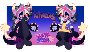 Kitmons: Lone star Auction (CLOSED) by softmio