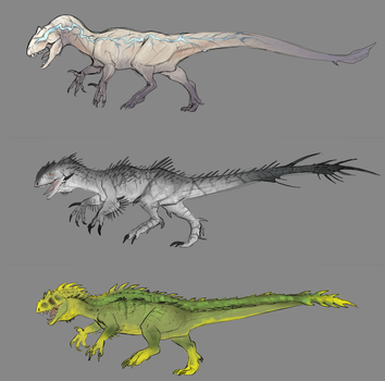 Indominus Strains (The Isle) by Kelskora