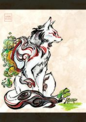 Okami Shiranui by Ahkward
