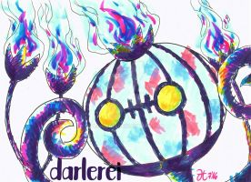 Chandelure by darlerei