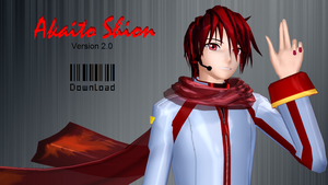 MMD Akaito Shion 2.0 by Verdy-K
