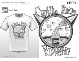 Creative Juices Flowing Shirt by reyjdesigns