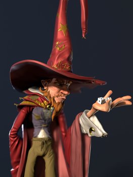 Rincewind - Discworld by 8kx