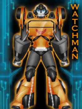 Transformers OC: Watchman by AshesInWhiteHands