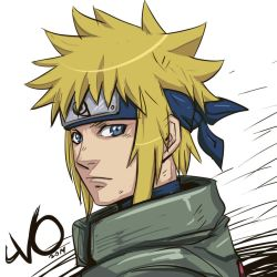 Digital Sketch Warmup 64 - Minato by Vostalgic