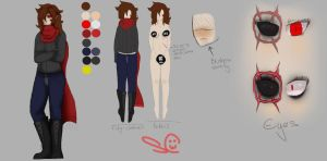 Zora Reference Sheet (Outdated) by TheScarletCrow