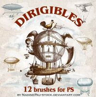 Dirigibles by NadinePau-stock