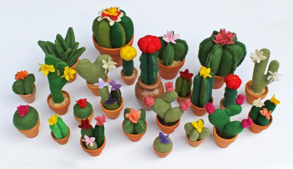 Cactus Party! by Madelei