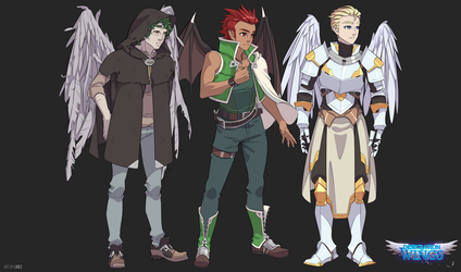Desecration of Wings Cast 2 by lires