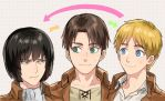 SNK - Hair change by sine-eang