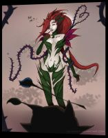 #DevO Gift from Maokai! Zyra Fan Art [LoL] by Ka-Xanx21