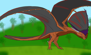 Pterowyvern (Tupandactylus) by aerithedrgn
