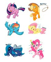 MLP Chars by renzus