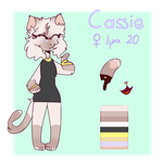 [2017] Cassie Refrence Sheet by pff-f